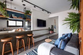 70平米一室一厅北欧风格客厅效果图