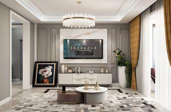 富裕型80平米三室一厅美式风格客厅图片大全