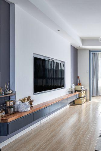 10-15万110平米三室两厅北欧风格走廊图片