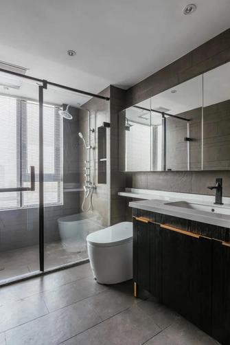 富裕型120平米三室两厅轻奢风格卫生间效果图
