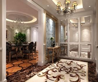 20万以上140平米四室两厅法式风格玄关图片大全