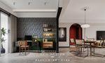 富裕型130平米法式风格书房欣赏图
