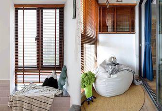 3-5万70平米一居室现代简约风格阳台设计图