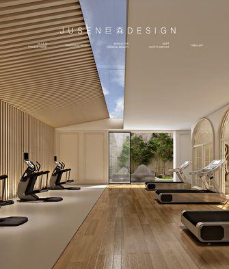 140平米别墅法式风格健身房效果图
