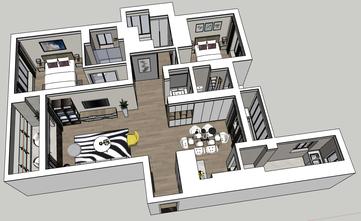 豪华型130平米三室两厅北欧风格其他区域图