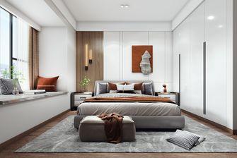 110平米三室两厅现代简约风格卧室设计图