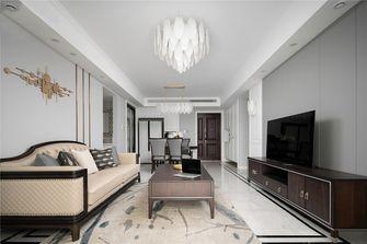 110平米三室一厅美式风格客厅欣赏图