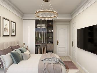 富裕型120平米三室两厅法式风格卧室图片