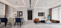 豪华型140平米四室一厅混搭风格餐厅图片大全