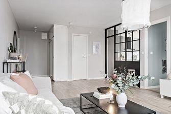 豪华型140平米四室三厅北欧风格客厅装修图片大全