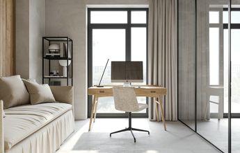 富裕型60平米公寓田园风格卧室图