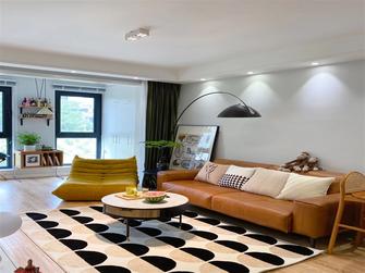 100平米三室两厅现代简约风格客厅图片大全