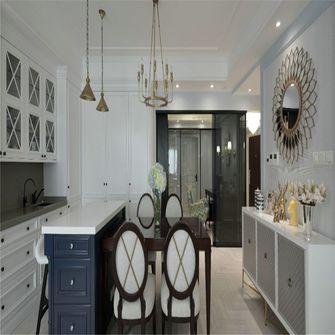 豪华型140平米三室一厅美式风格餐厅图