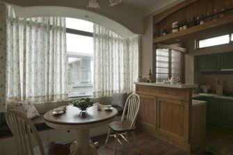 富裕型80平米美式风格餐厅装修案例