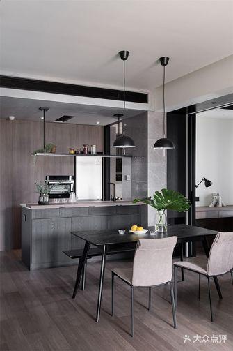 富裕型70平米现代简约风格餐厅效果图