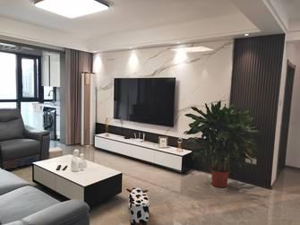 经济型130平米三室两厅现代简约风格客厅设计图