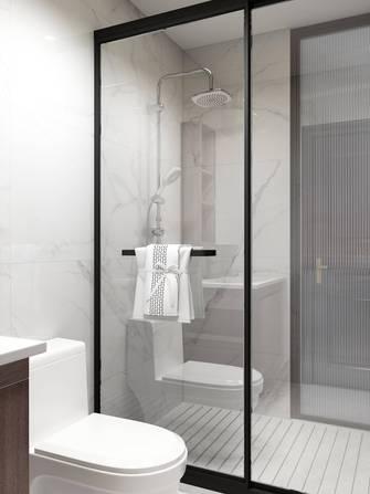 70平米三室两厅中式风格卫生间装修效果图
