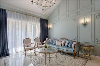 90平米三法式风格客厅设计图