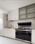 20万以上120平米三法式风格厨房效果图