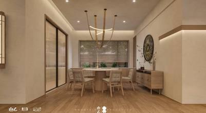 140平米三田园风格餐厅装修效果图