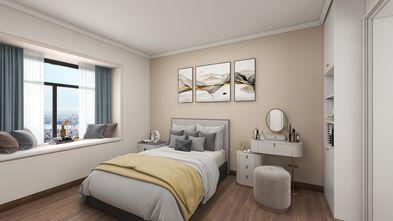富裕型120平米三室两厅现代简约风格卧室装修案例