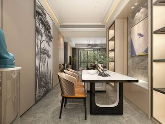 140平米四现代简约风格书房图片大全