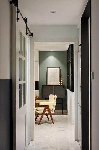 富裕型90平米三室一厅现代简约风格走廊图片