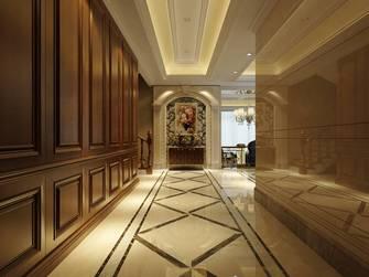 富裕型130平米三室两厅现代简约风格玄关图片大全