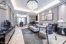 130平米三室一厅中式风格客厅装修案例