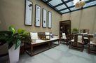 经济型140平米四室两厅现代简约风格阳光房装修图片大全
