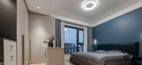 5-10万80平米现代简约风格客厅装修效果图