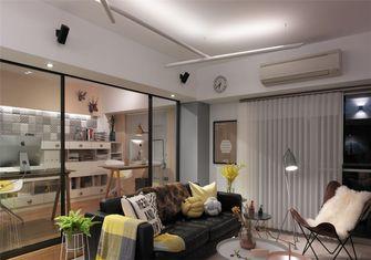 豪华型80平米一室一厅北欧风格客厅图片大全