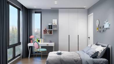 豪华型140平米四室两厅现代简约风格青少年房图片