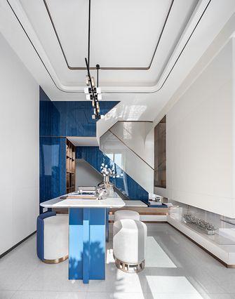 140平米复式现代简约风格书房图片