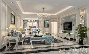 120平米四室两厅欧式风格客厅设计图