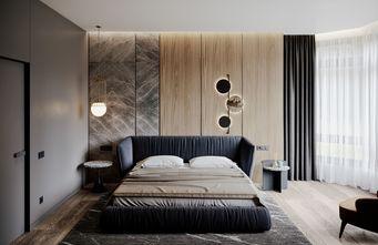 90平米公寓现代简约风格卧室图