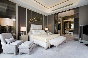 20万以上140平米复式港式风格卧室欣赏图