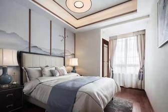 100平米三室三厅中式风格卧室装修效果图