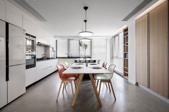 豪华型140平米复式现代简约风格餐厅图片