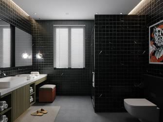 经济型100平米法式风格卫生间装修案例
