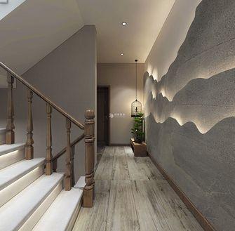 富裕型140平米复式中式风格楼梯间图片