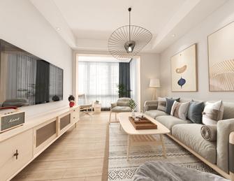 5-10万110平米三室两厅日式风格客厅装修图片大全