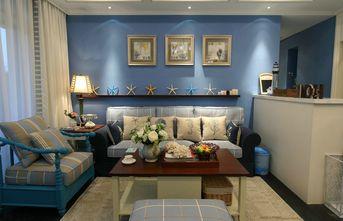15-20万110平米三室两厅地中海风格客厅图片