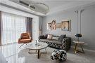 富裕型90平米四室一厅混搭风格客厅图片