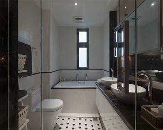 140平米四室一厅北欧风格卫生间欣赏图