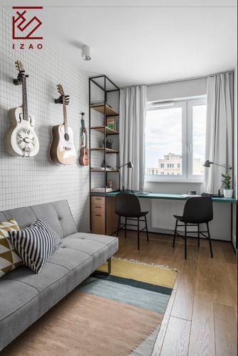 经济型80平米现代简约风格书房装修图片大全