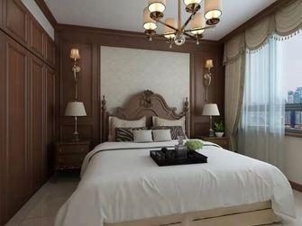 140平米四室两厅美式风格卧室图片
