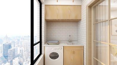 15-20万90平米三室一厅日式风格阳台装修图片大全