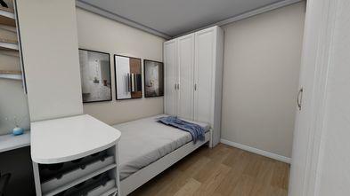 经济型50平米混搭风格卧室设计图