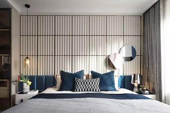 140平米四室一厅混搭风格卧室装修案例